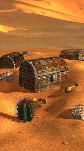 3D沙漠寻宝动态壁纸