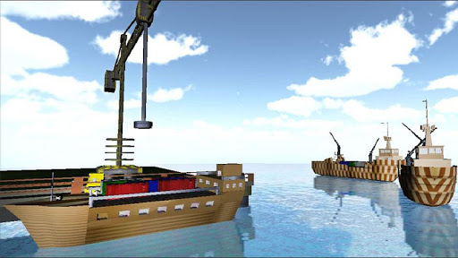 海滩 货物 运输 模拟器