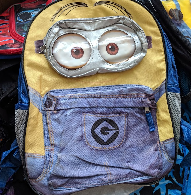 A minions backpack