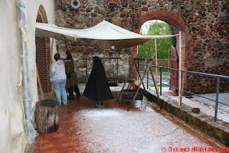 Photo: Hagelschauer beim Aufbau
