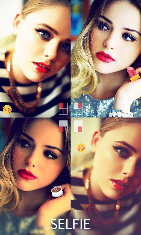 Beauty Makeup Snappy Collage Photo Editor - Lidow: captura de pantalla