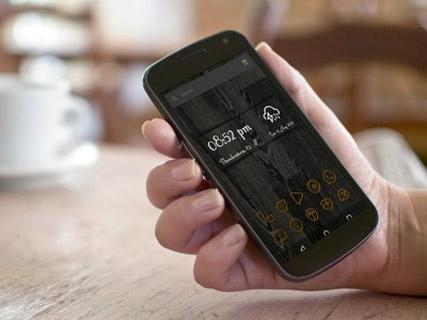 Kayu Icons - Various Launchers