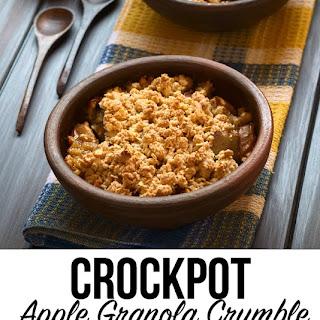 Crockpot Apple Granola Crumble
