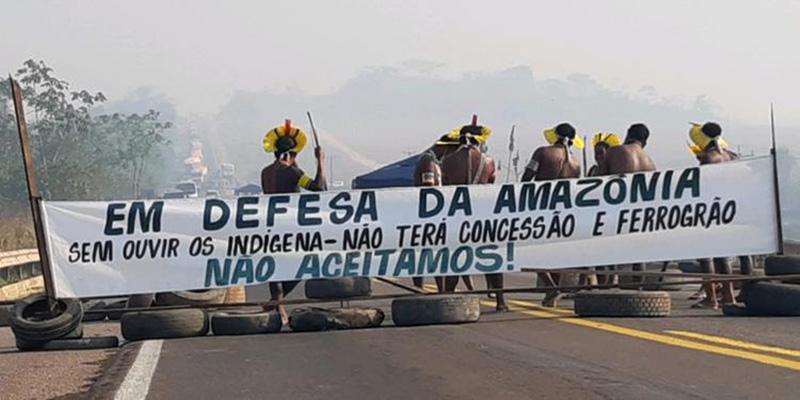 Brasilien Angriff auf Indigene 2