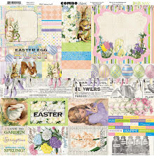 BoBunny Combo Stickers 12X12 - Cottontail UTGÅENDE