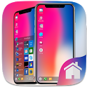 Phone X Theme For Computer Launcher icon