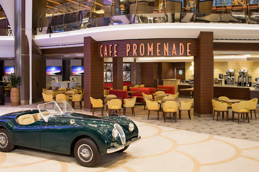 Harmony-of-the-Seas-Cafe-Promenade.jpg - Skip the buffet lines and head to the Café Promenade for casual fare on Harmony of the Seas.
