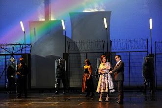 Photo: DARMSTADT: DAS RHEINGOLD. Inszenierung John Dew. Aufführung 26.1.2013, zum Bericht von Dr. Klaus Billand. Foto: Barbara Aumüller.