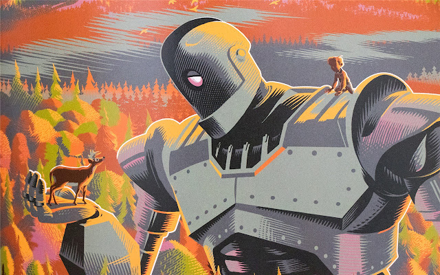 The Iron Giant Themes & New Tab