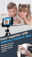 Screenshot of AtHome Video Streamer- Monitor