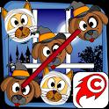 Cat Dog Toe Halloween - 🎃 Tic Tac Toe 🎃 icon