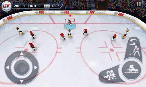 Ice Hockey 3D screenshot 2