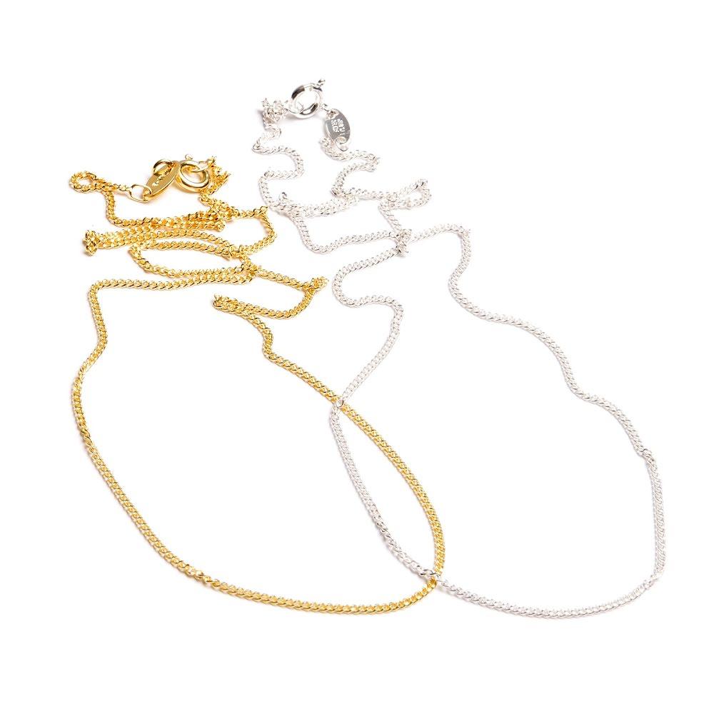 Kedja, Silver och guldpläterad pansarkedja