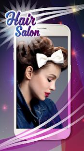 Hair Salon Photo Montage App - náhled