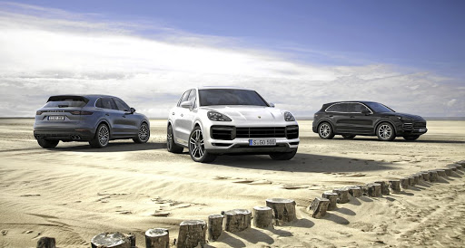 Three petrol Cayenne models will initially be available in SA, with a diesel and hybrid to follow. Left: The cabin blends elegance with hi-tech.
