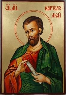 Saint Bartholomew the Apostle Hand-Painted Icon - BlessedMart