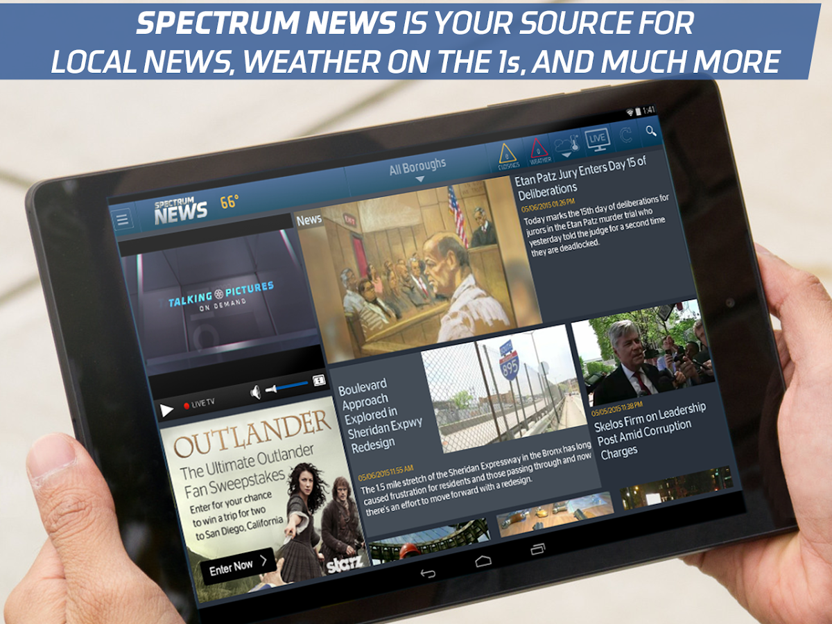 Spectrum News- screenshot