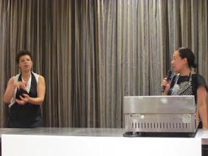 Photo: マリカ先生と棚瀬さん