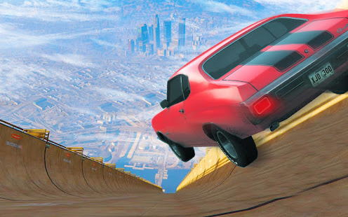 Grand Mega Ramp Stunt Auto Muscle Car Driver 2018 Apps On Google Play