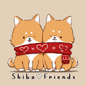 Cute Wallpaper Shiba♡Friends Theme icon