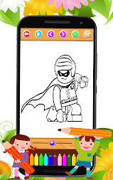 Coloring book moana APK screenshot thumbnail 5
