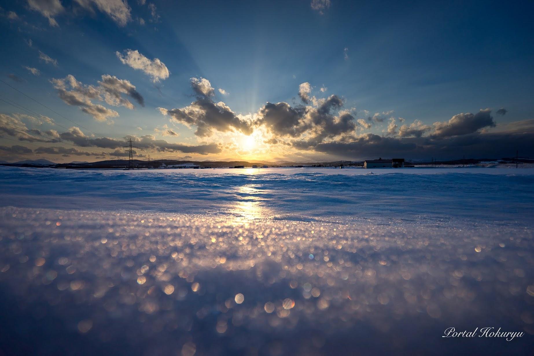 雪の大海原