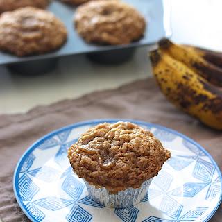 Banana Cinnamon Crumb Muffins