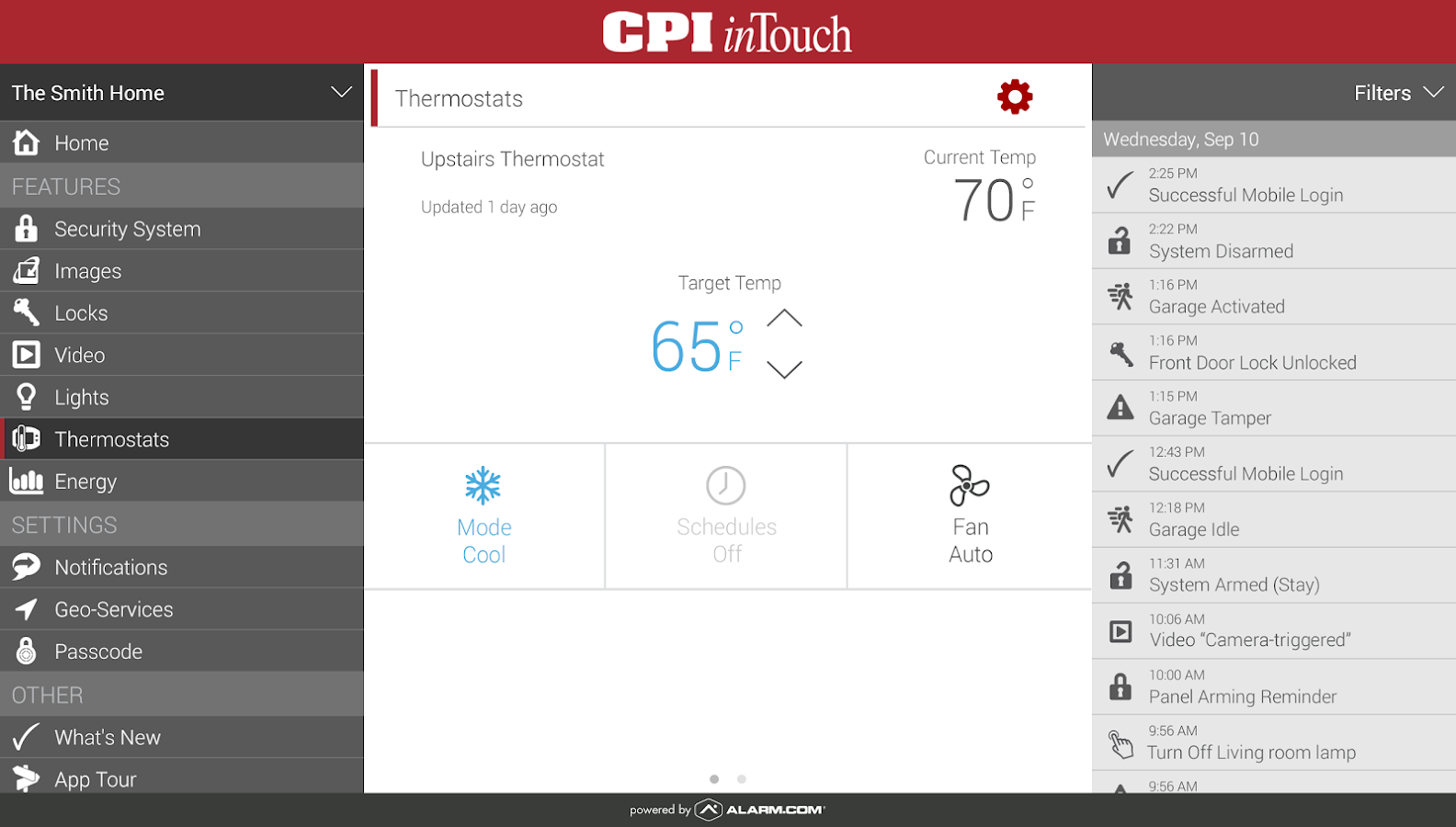 CPI Security- screenshot