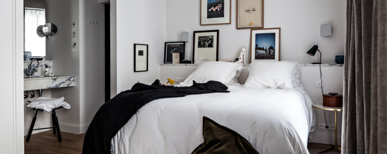 Décorations de la chambre et du lit