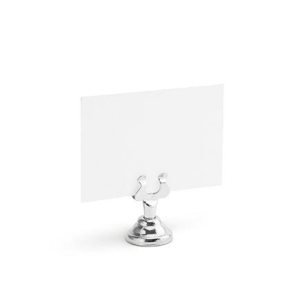 Placeringskortshållare silver, 1-pack