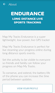 Map My Tracks Endurance- screenshot thumbnail