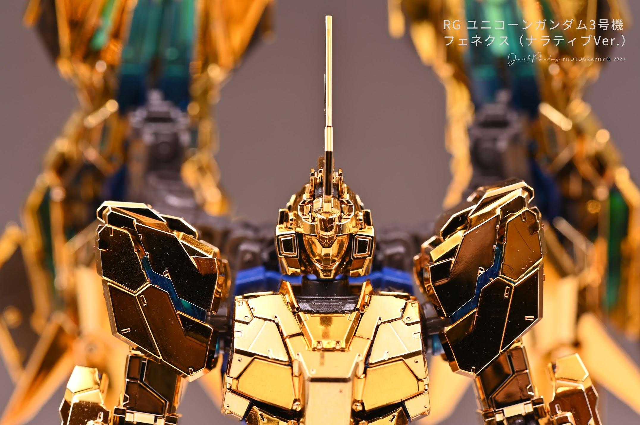 可能是受到電影鋼彈NT的影響,這次鳳凰的獨角獸模式特別耐看。