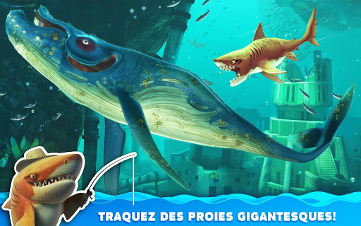 Hungry Shark World  captures d'u00e9cran 18