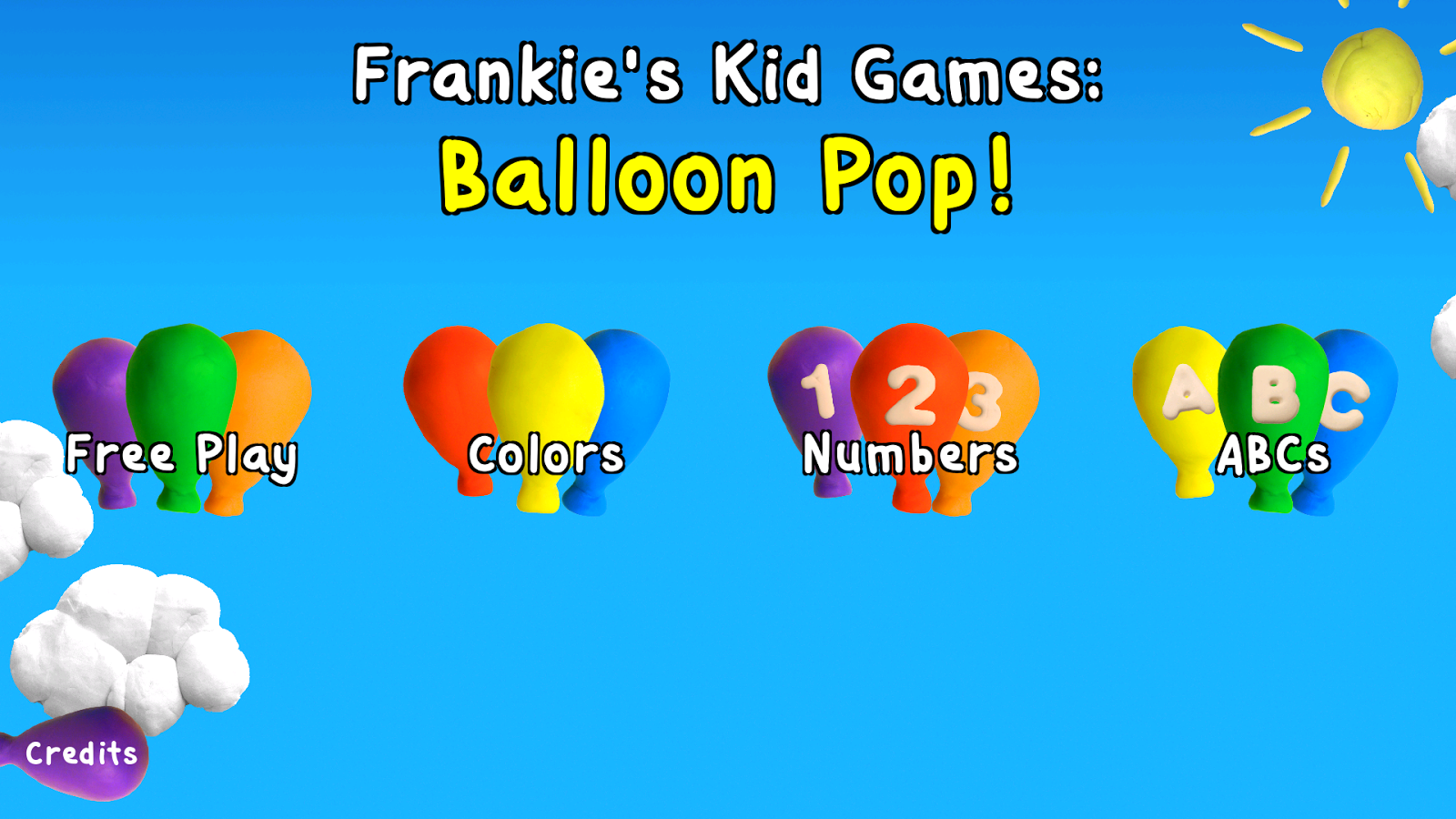 Balloon pop free kids game android apps on google play for Free balloon games