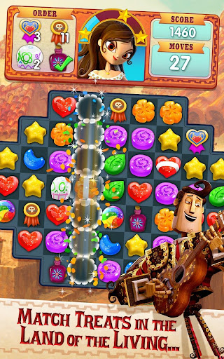 Sugar Smash: Book of Life - Free Match 3 Games. - screenshot