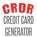 CRDR Credit Card Generator CVV icon