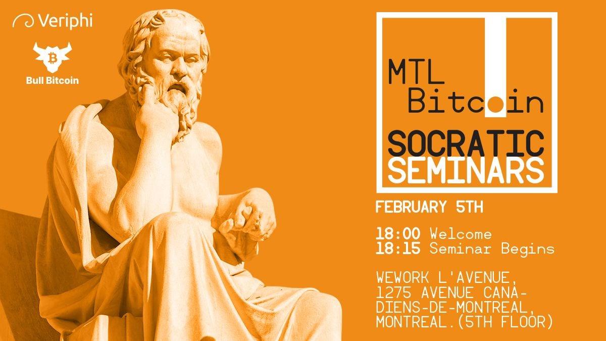 Bitcoin Socratic Seminar in Montreal