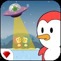 Pino Penguin Jump - Top down Arcade Game icon