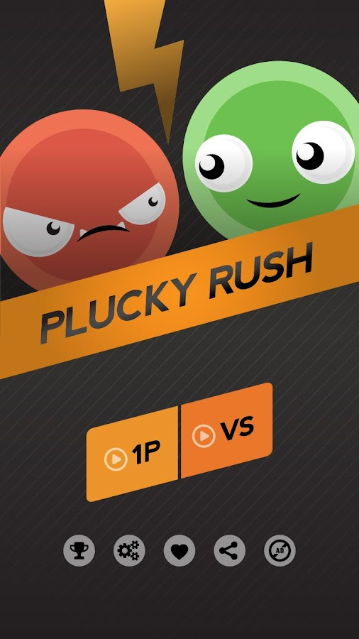 Plucky Rush- screenshot