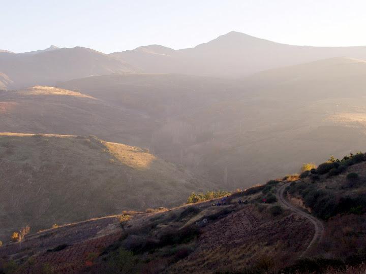 Vistas de los aquilianos desde el alto de San Lorenzo
