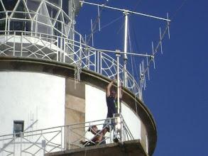 Photo: Montagem de antenas