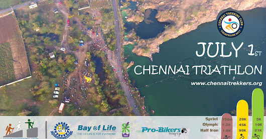 Chennai Triathlon, July 1st - Sprint / Olympic / Half Iron - Registrations Open