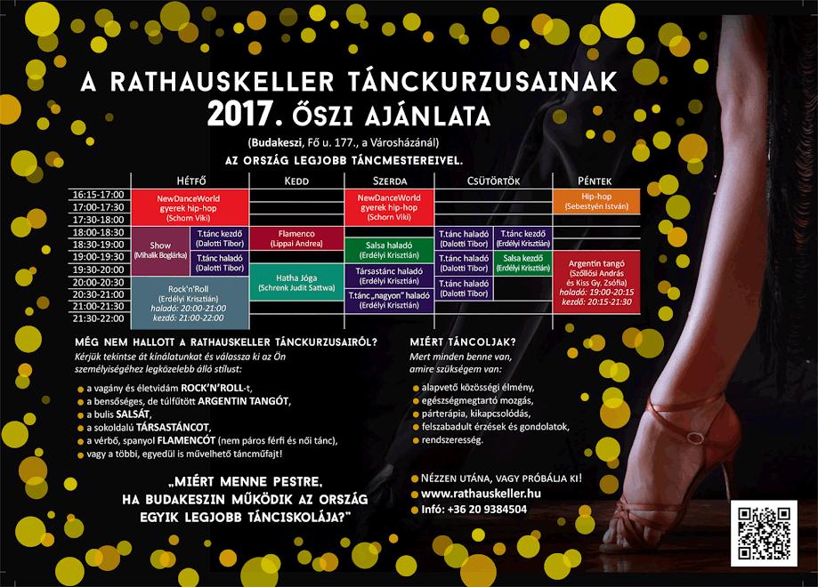 2017. őszi tánckurzusok