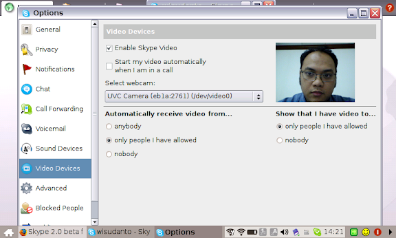 Skype 2.0 di EeePC