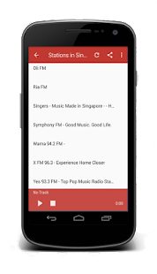 Singapore Radio FM Online 2018 - náhled