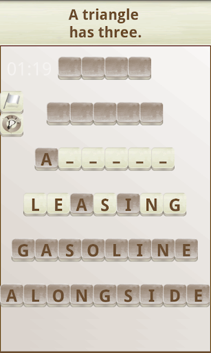 Word Scramble 1.18 screenshots 1
