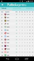 Screenshot of Futbol Argentino