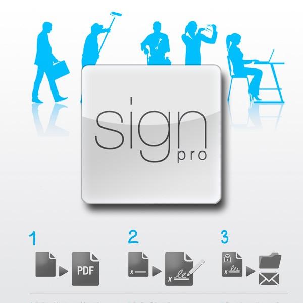 Wacom sign pro PDF