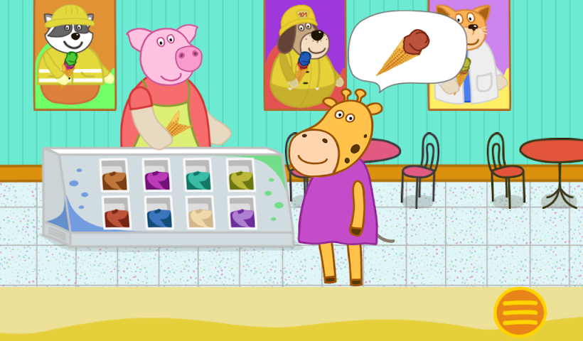 android Professions. Kindergarten 2 Screenshot 8
