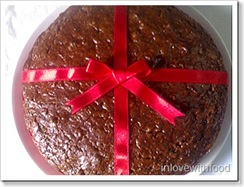 cocoa fruit cake-bindiya